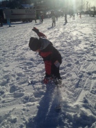 1st time skiing
